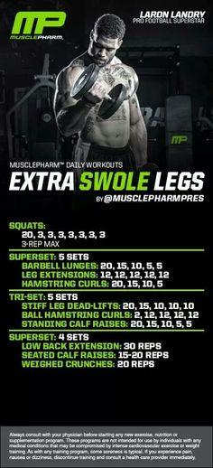 MusclePharm Extra Swole Legs