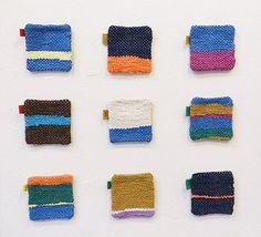 織物作家「neto」さんの裂き織りコースター予約販売します。 お申込はスタッフまで