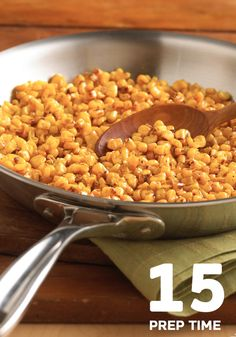 This delicious Pan Roasted Corn only takes 15 minutes to make, making it a quick side dish. With Chili powder. made 8/22/13 and was super yummy and easy! J and I loved it, kids didn't like.