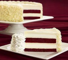 Ultimate Red Velvet Cheesecake Recipe--my boyfriend is making this for me right now!