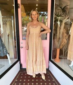 New arrival from cult favourite bohemian label, Indian Summer Co, the Kashmir Maxi Dress is already a best seller. Shop this beauty, perfect for long hot summer days and nights, in store & online now! Long Hots, Fruity Cocktails, Tiered Skirts, Yellow Print, Indian Summer, Button Dress, Store Online, Summer Nights, Label