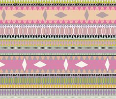 pastel kiss stripe fabric by scrummy on Spoonflower - custom fabric Lilac Nursery, Striped Fabrics, Custom Fabric, Spoonflower, Tatting, Eyeshadow, Pastel, Girly, Sewing