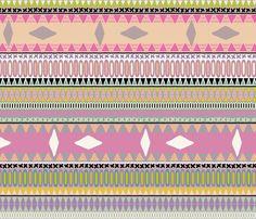 pastel kiss stripe fabric by scrummy on Spoonflower - custom fabric Lilac Nursery, Striped Fabrics, Custom Fabric, Spoonflower, Tatting, Girly, Pastel, Sewing, Wallpaper