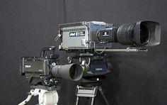 NHK shrinks its Super Hi-Vision-ready camcorder to the size of HD cameras Super 8, Nhk, Video Film, Slr Camera, Camcorder, Cinematography, Binoculars, The Unit, Technology