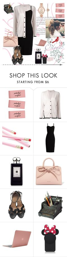 """Senza titolo #75"" by lisanna86 ❤ liked on Polyvore featuring Lanvin, SugarLuxeShop, MaxMara, Jo Malone, Mansur Gavriel, Hemingway, Incase, Kate Spade and Michael Kors"