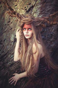 Juliane Naumann I Photography - Paulina Bachmann Fantasy Photography, Fashion Photography, Circus Makeup, Tribal Makeup, Grandeur Nature, Dark Beauty Magazine, Avant Garde Hair, Tribal Warrior, Hair Shows