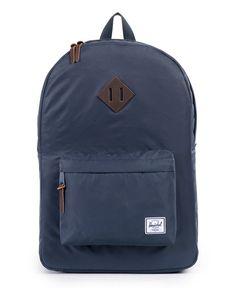 HERSCHEL SUPPLY CO. - HERITAGE BACKPACK (NAVY NYLON) Heritage Backpack e9e54c235af38