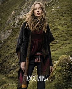 Fracomina F/W 17 - 18 (Various Campaigns) Skinny Fashion, Cat Walk, Fall Trends, Alternative Fashion, Super Skinny, Fashion Models, Cool Outfits, Kimono Top, Ralph Lauren