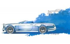 Bentley Continental Cabriolet concept sketch