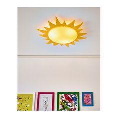 SMILA SOL Plafón IKEA Para iluminación general. Recomendamos utilizar bombillas de bajo consumo que generan menos calor.