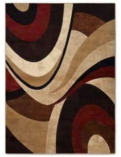 Home Dynamix Tribeca Collection Contemporary Brown-Red Area Rug x Brown-Red), Beige, Size x (Olefin, Abstract) Contemporary Carpet, Contemporary Area Rugs, Modern Area Rugs, Beige Area Rugs, Red Area Rugs, Oversized Area Rugs, Area Rug Sets, Red Rugs, Blue Rugs