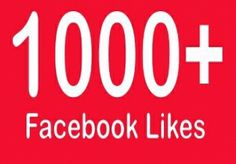 add 1150++ REAL  facebook likes   for $6