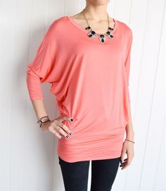 22 colors and only $14.99!   This Made in the USA dolman tunic features super smooth luxury viscose fabric for the great fit and smooth feeling, this gorgeous top swings and drapes through your body.   Find it now at www.groopdealz.com