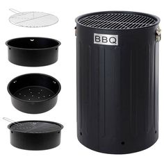 Barbecue zwart
