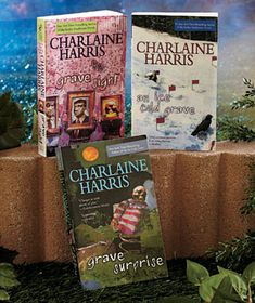 Harper Connelly series by Charlaine Harris