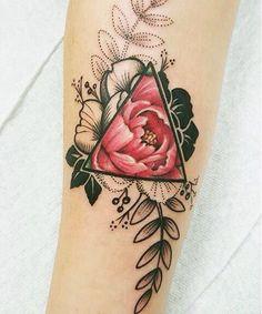 Роза цвет/чб
