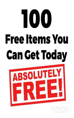We love getting stuff for free, and these 100 Free Items You Can Get Today are just the beginning. Some of these items even break down into more when you look at individual things. Cigarette Coupons Free Printable, Free Coupons By Mail, Free Mail, Printable Coupons, Free Samples Without Surveys, Free Samples By Mail, Stuff For Free, Free Stuff By Mail, Coupons For Free Stuff