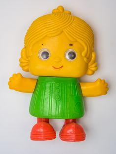 """DDR Museum - Museum: Objektdatenbank - """"Puppe für Kleinkinder"""" Copyright: DDR Museum, Berlin. Eine kommerzielle Nutzung des Bildes ist nicht erlaubt, but feel free to repin it!"""
