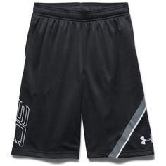 Under Armour Boys' SC30 Essentials Basketball Shorts ($30) ❤ liked on  Polyvore featuring