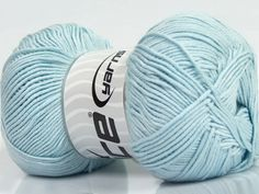 X Skeins Ice Yarns Baby Bamboo Bamboo 50 Cotton) Wool Baby Ice Yarns, Baby Bamboo, Ice Ice Baby, Throw Pillows, Wool, Fiber, Cotton, Blue, Baby Blue