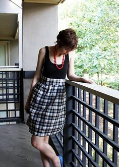 An easy and cheap dress to make that's awesome!