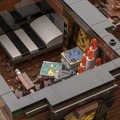 LEGO IDEAS - - The Pirate Bay Pirate Lego, Lego Ship, Tiki Lounge, Treasure Maps, Small Farm, Legos, Pirates, Lego Ideas, Ships