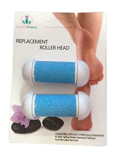Replacement Heads for the #1 Best Selling Auto Pedi ,Perfect Electronic Pedicure Foot File, Callus Remover for Dry Feet, Fits All Brand Callus Removers e.g. Auto Pedi, Nature Tech, Pursonic, Care Me, Pedisoft, Pedicure. Auto Step LLC http://www.amazon.com/dp/B00YWSHE5U/ref=cm_sw_r_pi_dp_E7aLvb09AZHR2