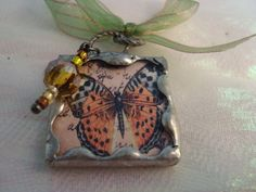 Butterfly with MUSIC by victoriacharlotte on Etsy, $9.50