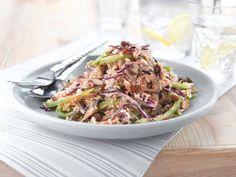 Vegetarian recipes: Tahini, Nut & Vegetable Rice Salad