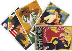 10 SEVILLA postcards. SEVILLANA postcards from Spain by StupidFlamingo on Etsy https://www.etsy.com/listing/174658088/10-sevilla-postcards-sevillana-postcards