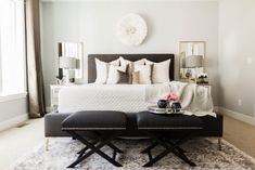 Unique ways to use colour within bedroom interiors - Decorology