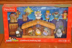 Fisher Price Little People Children's Nativity set New in Box #FisherPrice