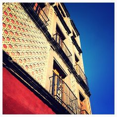 #centro #museoarchivodelafotografia #blue #red #architecture