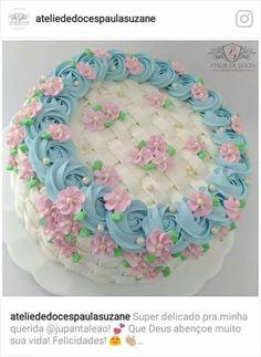23 Ideas For Birthday Cake Decorating Tutorials Desserts Cake Decorating Techniques, Cake Decorating Tutorials, Cookie Decorating, Cupcakes Decorating, Cake Icing, Buttercream Cake, Cupcake Cakes, Frosting, Cake Roses