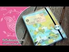 Portadocumentos de Scrapbooking con Plastificadora - YouTube