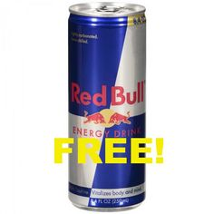 """Get a FREE Can of Red Bull at 7-Eleven! Just go here and scroll down to """"Redeem"""". Just fill out the short form. You will be sent a text message with the link to the coupon. Don't redeem the coupon until you are ready to use it! You'll have 15 minutes to use it once …"""