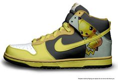 save off 43d77 1c793 Pokemon Nike High Top Pikachu SB Dunks 2 Packs Pikachu Shoes Nike these are  2 pairs nike shoes pikachu .