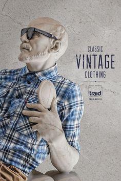 Read more: https://www.luerzersarchive.com/en/magazine/print-detail/traid-53773.html Traid Campaign for the vintage range of UK charity store Traid. Tags: RKCR/Y&R, London,Lee Aldridge,Al Brown,Algy Sharman,Mark Roalfe,Leo Caillard,Traid,Alexis Persani