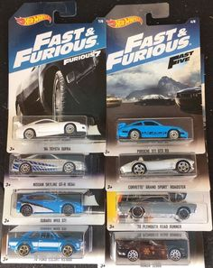 Hot Wheels Fast & Furious Set 5 2017  | eBay