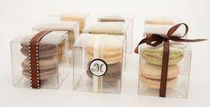 Macaron Wedding Favors  #macarons www.nikkolettesmacarons.com