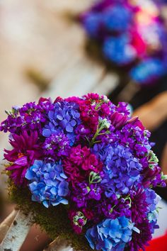 Purples and blues  ~ IQPhoto  | bellethemagazine.com