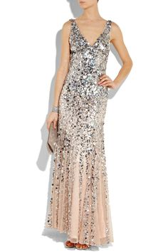 Are you noticing a theme of sparkly dresses?