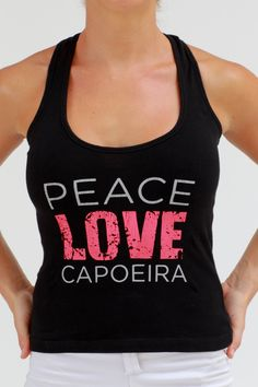 Capoeira singlet by LadyLynxClothing on Etsy