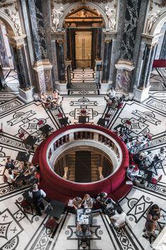 Vsiter Vienne : Cafe du Musee d'histoire de l'Art