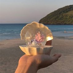 Winter Christmas Gifts, Sea And Ocean, Snowball, Aesthetic Pictures, Aesthetic Wallpapers, Sea Shells, Snow Globes, Decorative Bowls, Mermaid
