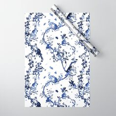 Monkey World Jouy Gift Wrapping Paper by Fifikoussout - Pack of 5 Monkey World, Double Stick Tape, Gift Wrapping Paper, Cool Patterns, Chinoiserie, Floral Tie, Line Art, Personal Style, Wraps