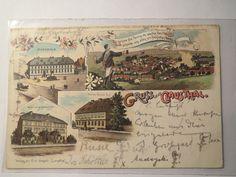 Clausthal Gruss AUS Hotel GLÜCK AUF 1898 Turnerschaft Germania Studentika | eBay