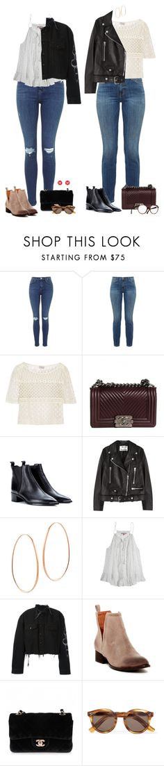 """""""Sunday brunchin'"""" by audrey-balt ❤ liked on Polyvore featuring Current/Elliott, Temperley London, Chanel, Acne Studios, Lana, Calypso St. Barth, County Of Milan, Jeffrey Campbell, Illesteva and Moschino"""