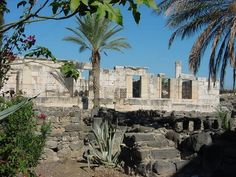 Jesus made Capernaum his home.  The Son of God, the King of the Universe lived here.  Jesus made it the base of his earthly ministry.