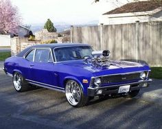 How much do you like this Chevy Nova SS?!!! Rate it 1-100